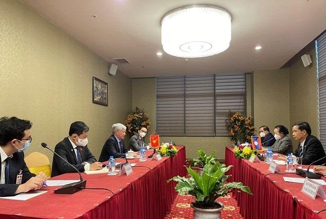 Tiếp tục thúc đẩy quan hệ hợp tác giữa MTTQ Việt Nam và Mặt trận Lào xây dựng đất nước