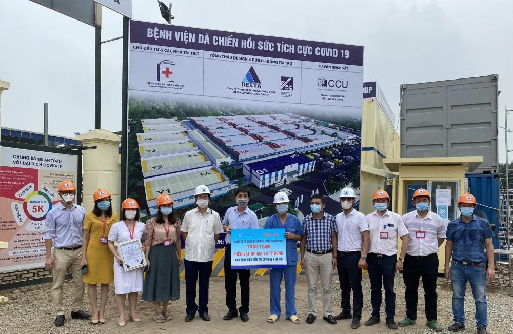 Công ty Rạng Đông tặng hệ thống chiếu sáng trị giá 1,8 tỷ đồng cho Bệnh viện Dã chiến Hồi sức tích cực