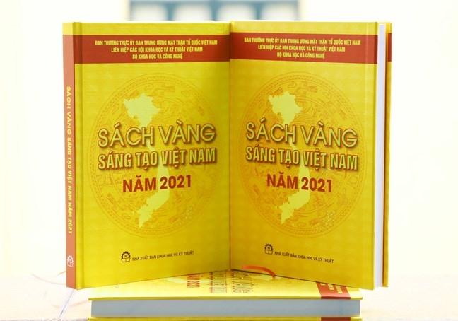 76 công trình, giải pháp tiêu biểu được vinh danh trong Sách vàng Sáng tạo Việt Nam năm 2021
