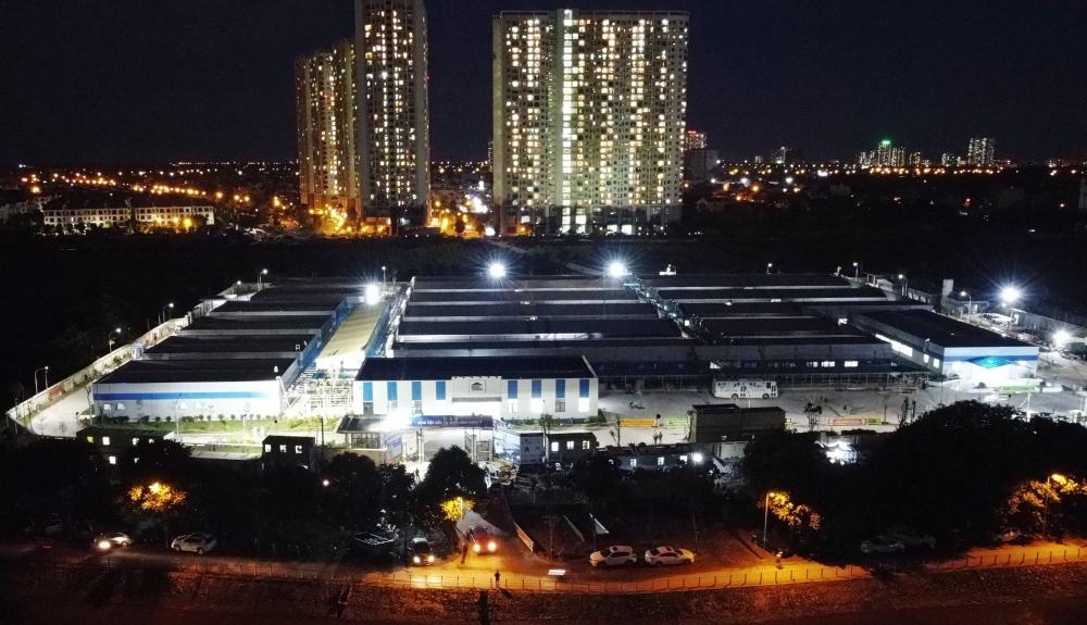 Bàn giao Hệ thống và giải pháp chiếu sáng cho Bệnh viện điều trị người bệnh Covid-19 tại Hà Nội