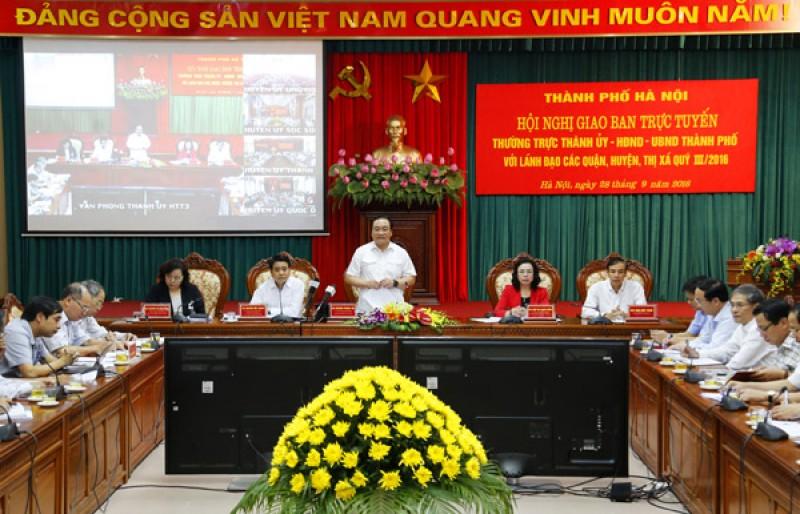 Hà Nội quyết tâm cao hoàn thành các dự án trọng điểm