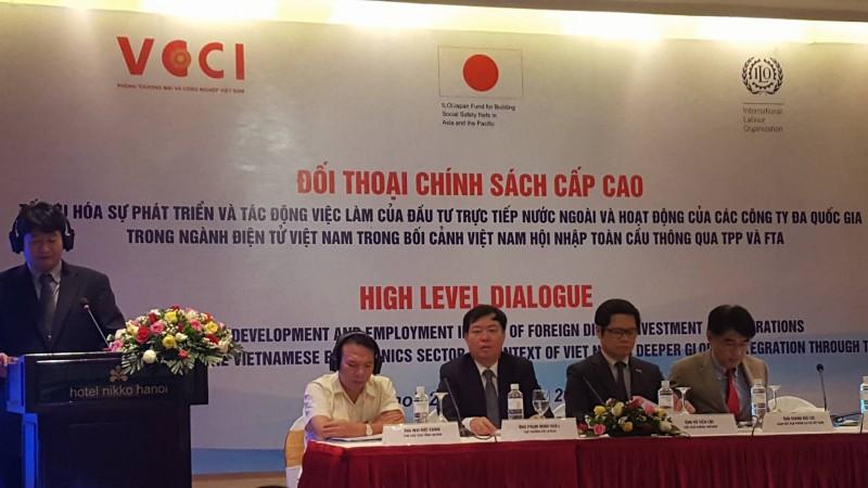 99/100 doanh nghiệp điện tử Việt Nam là doanh nghiệp FDI
