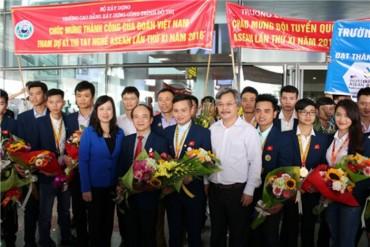 Việt Nam đứng thứ ba Kỳ thi tay nghề ASEAN lần thứ XI