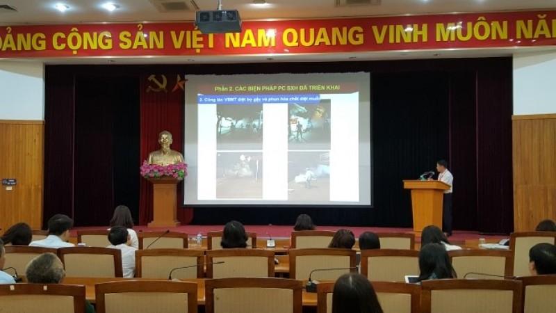 Long Biên tuyên truyền phòng chống sốt xuất huyết tới cơ sở