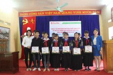 Rạng Đông mang nguồn sáng đến với học sinh Mù Cang Chải