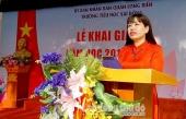 Hơn 1.700 thầy trò Trường Tiểu học Sài Đồng hân hoan đón năm học mới
