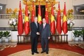 Thủ tướng Nguyễn Xuân Phúc tiếp Phó Thủ tướng Quốc vụ viện Trung Quốc