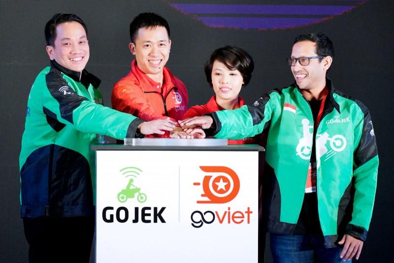 Go-Viet ra mắt dịch vụ gọi xe công nghệ và chuyển phát nhanh