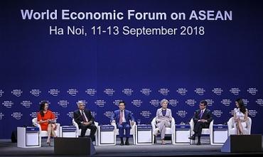 WEF ASEAN 2018: Phiên thảo luận về Triển vọng địa chính trị châu Á