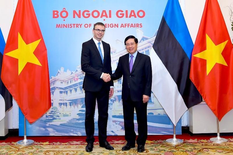 Thúc đẩy quan hệ song phương giữa Việt Nam và Ét-xtô-ni-a