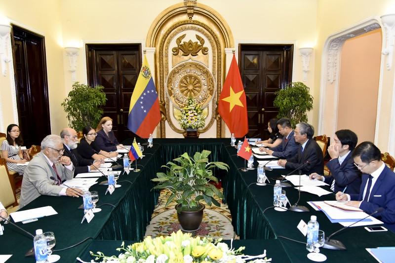Thúc đẩy hơn nữa quan hệ Việt Nam - Venezuela