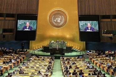 Thủ tướng Nguyễn Xuân Phúc khẳng định Việt Nam luôn đồng hành với Liên hợp quốc