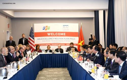 Việt Nam luôn coi trọng thúc đẩy hợp tác nhiều mặt với Hoa Kỳ
