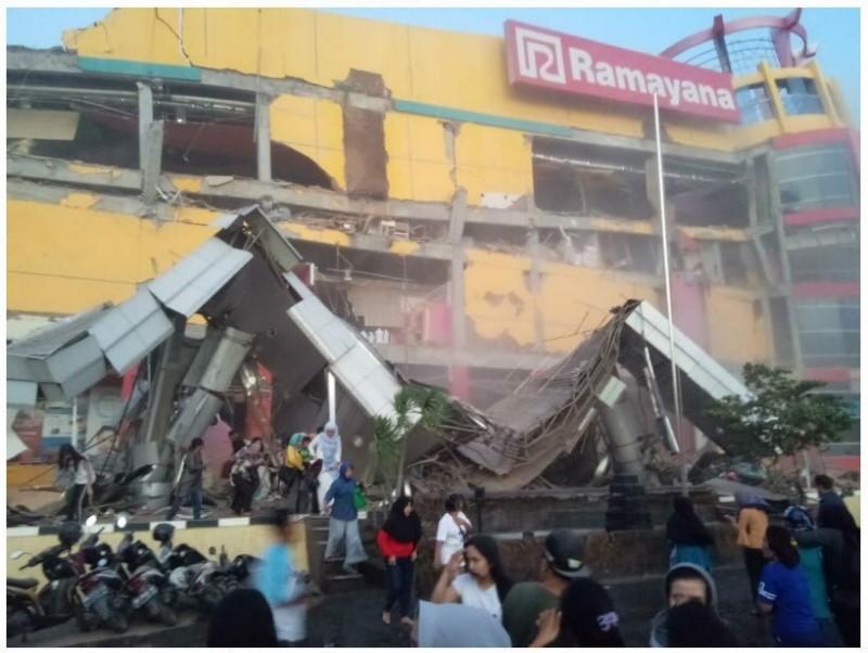 Chưa có thông tin về người Việt Nam bị nạn trong trận động đất tại Indonesia