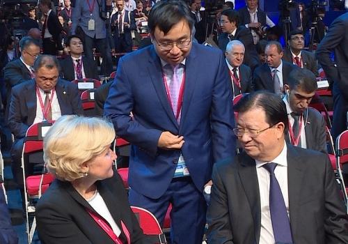 Phó Thủ tướng Trịnh Đình Dũng dự Phiên toàn thể Diễn đàn Kinh tế phương Đông