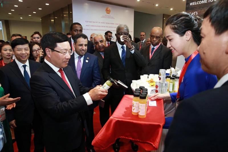 Lần đầu tiên gặp mặt Đại sứ các nước Trung Đông - châu Phi