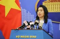 Yêu cầu Trung Quốc chấm dứt ngay vi phạm nghiêm trọng tại vùng biển Việt Nam