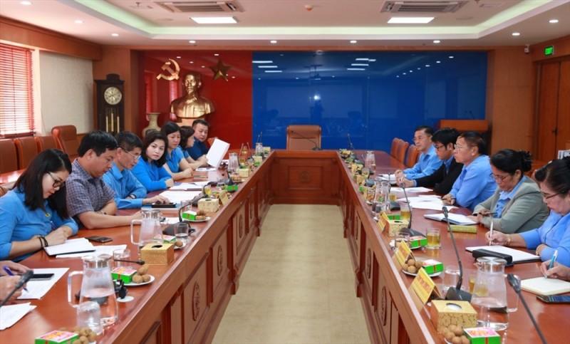 Tăng cường vun đắp quan hệ hữu nghị, hợp tác Công đoàn Việt Nam - Lào