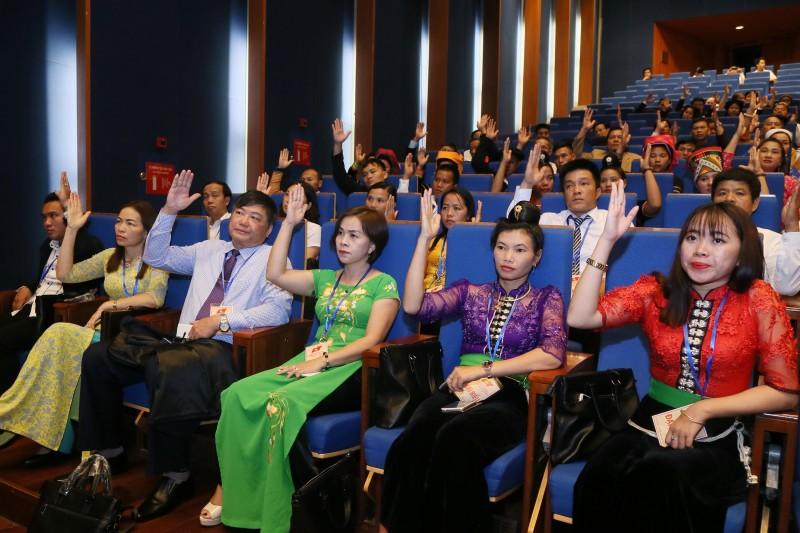 Khai mạc ngày làm việc thứ nhất Đại hội Mặt trận Tổ quốc Việt Nam lần thứ IX