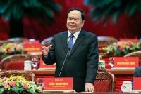 Ông Trần Thanh Mẫn tái cử chức Chủ tịch Ủy ban Trung ương Mặt trận Tổ quốc Việt Nam