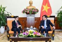 Phó Thủ tướng Phạm Bình Minh tiếp Đại sứ Ấn Độ tại Việt Nam