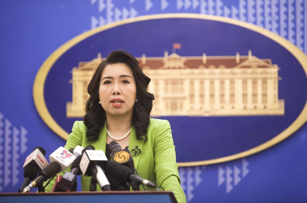 Người phát ngôn Bộ Ngoại giao nói về việc Trung Quốc tập trận, bắn tên lửa ở Biển Đông