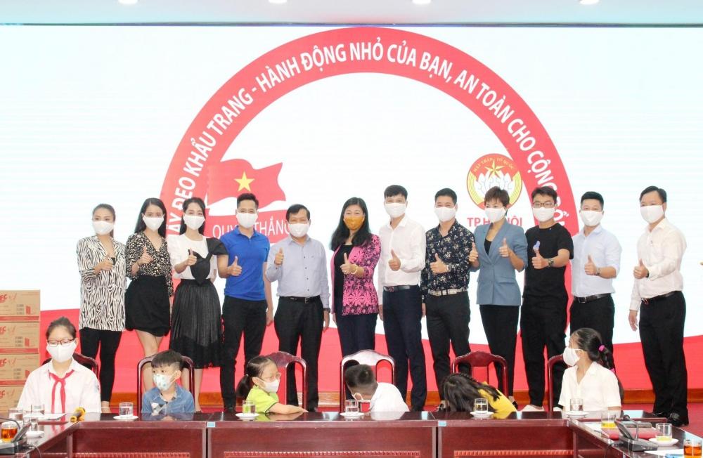 Hà Nội: Phát động nhân dân Thủ đô đeo khẩu trang phòng, chống dịch Covid-19