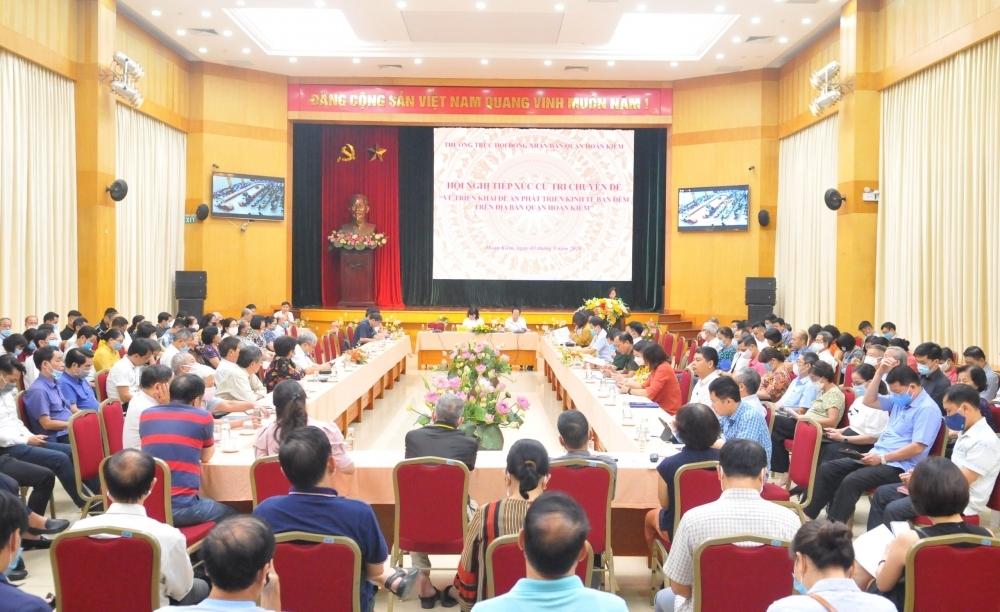 Nâng cao chất lượng hoạt động tiếp xúc cử tri trên địa bàn thành phố Hà Nội