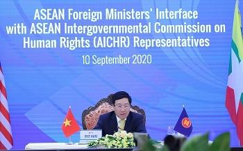 Đối thoại giữa các Bộ trưởng Ngoại giao ASEAN và Ủy ban liên chính phủ ASEAN về nhân quyền