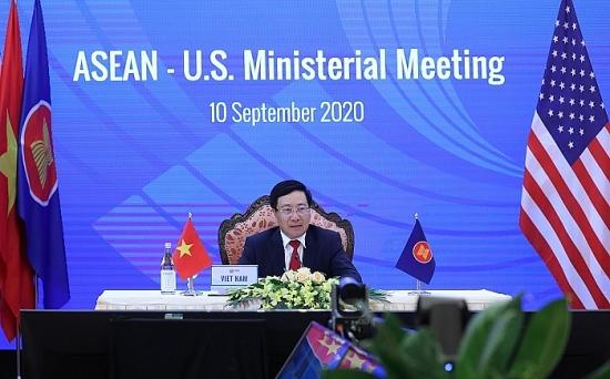 Bộ trưởng Ngoại giao các nước ASEAN họp trực tuyến với Hoa Kỳ và Canada