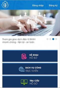 Cung cấp dịch vụ công trực tuyến trên Cổng Dịch vụ công của ngành Bảo hiểm xã hội