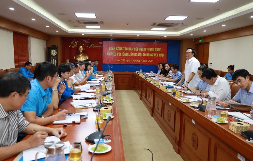 Hoạt động đối ngoại của các cấp Công đoàn Việt Nam đã đạt được thành tựu đáng khích lệ