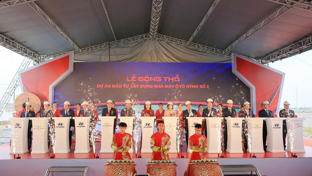Tập đoàn Thành Công động thổ Dự án Hyundai Thành Công số 2 tại Ninh Bình