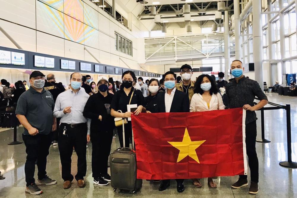Tiếp tục chuyến bay đưa công dân Việt Nam từ Hoa Kỳ về nước