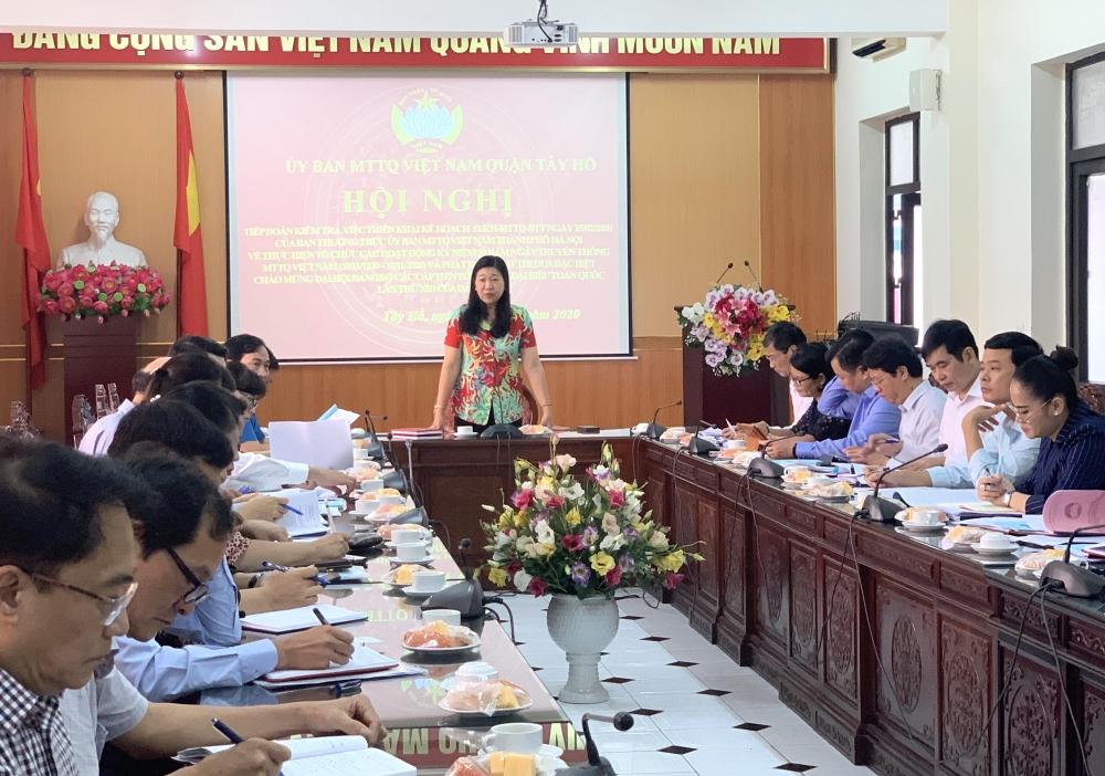 Cần khẳng định vị thế của Mặt trận Tổ quốc Việt Nam trong hệ thống chính trị