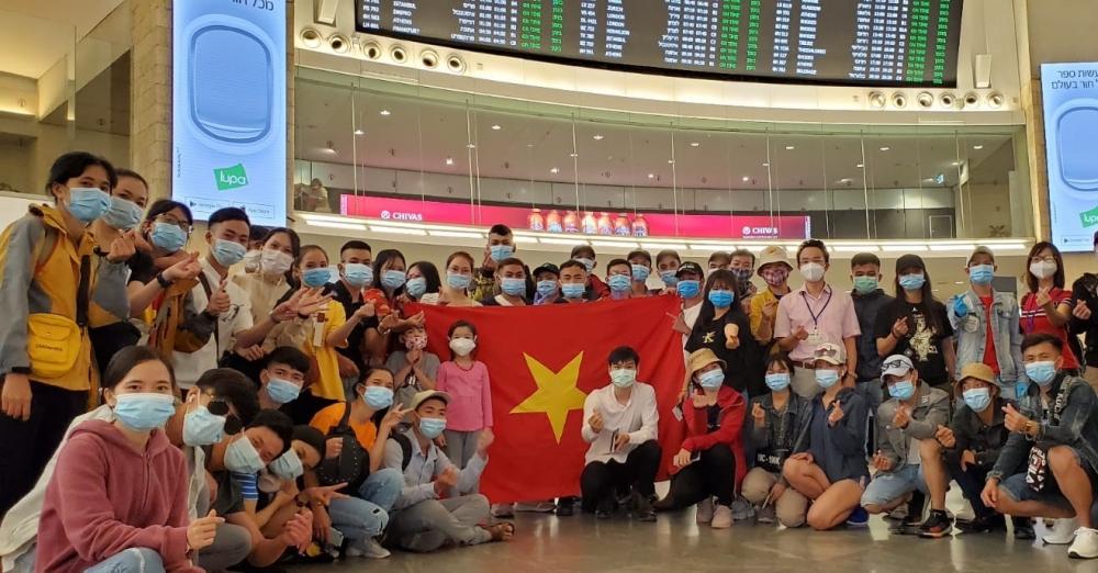 Đưa công dân Việt Nam từ Nga và Israel về nước