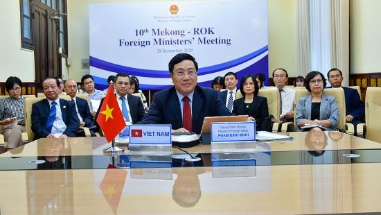 Hội nghị Bộ trưởng Ngoại giao Mê Công - Hàn Quốc: Đẩy mạnh hợp tác 7 lĩnh vực ưu tiên