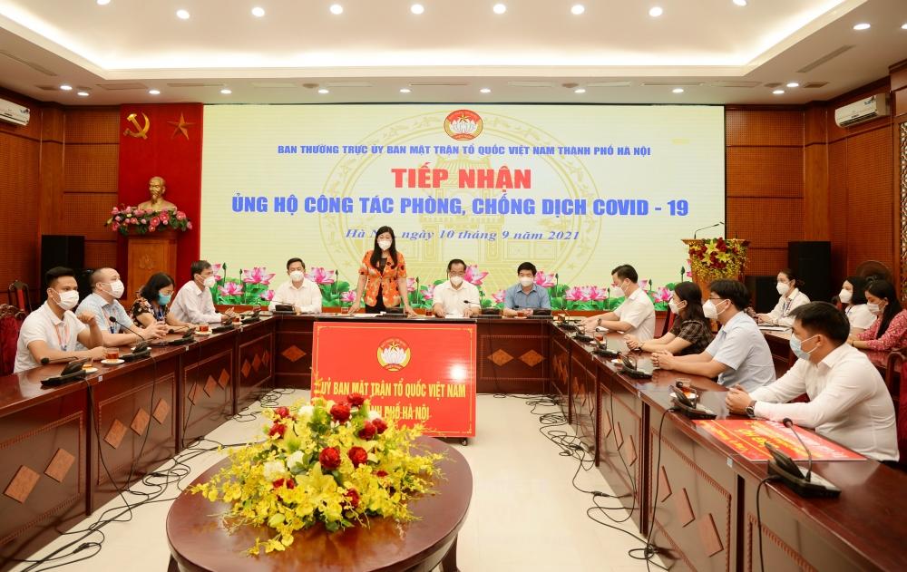 Tỉnh Lạng Sơn ủng hộ nhu yếu phẩm tiếp sức nhân dân Thủ đô sớm đẩy lùi dịch bệnh
