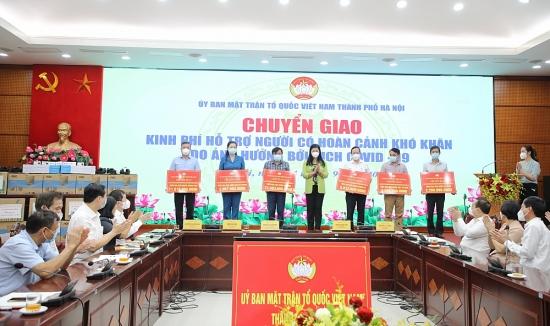 Hà Nội: Gần 86 tỷ đồng hỗ trợ các đối tượng gặp khó khăn do ảnh hưởng bởi dịch Covid-19