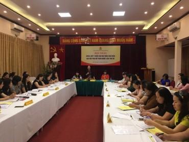 Tổng LĐLĐVN góp ý kiến dự thảo văn kiện ĐH Phụ nữ toàn quốc