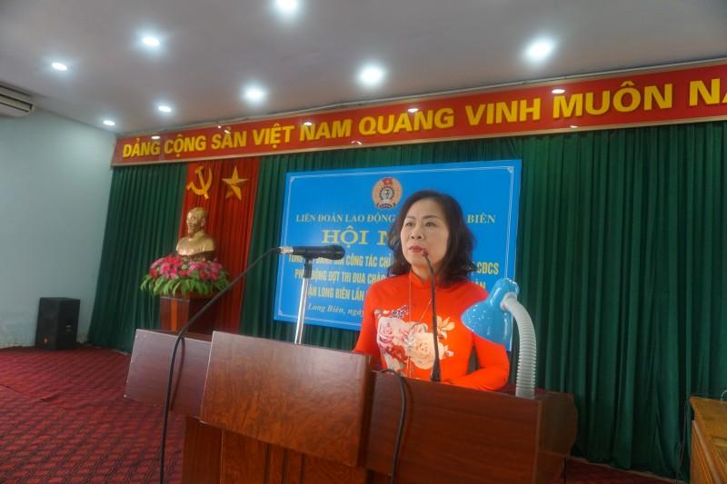 Long Biên: Phát động thi đua hướng về Đại hội Công đoàn các cấp