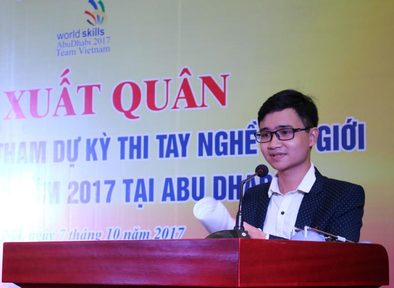 13 thí sinh Việt Nam dự Kỳ thi tay nghề thế giới lần thứ 44