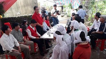 Trung ương Hội Chữ thập đỏ Việt Nam triển khai cứu trợ tới 5 tỉnh