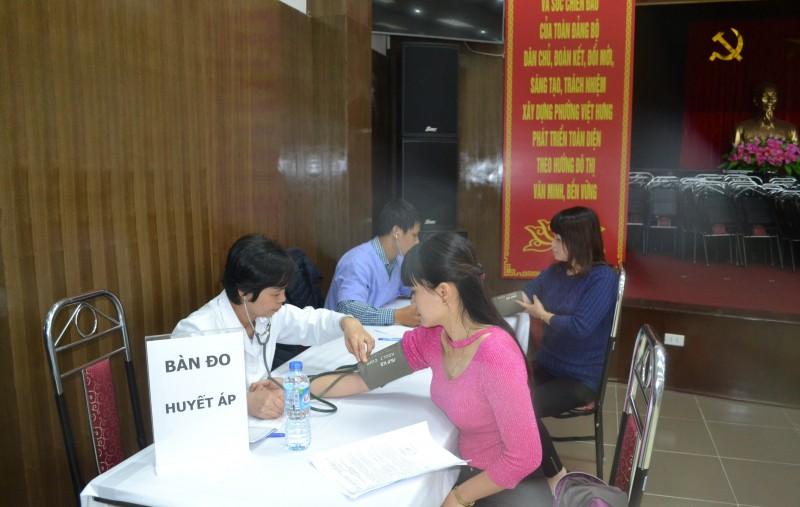 LĐLĐ quận Long Biên: Chăm sóc sức khỏe cho nữ CNVCLĐ