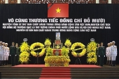 Lãnh đạo các nước gửi Điện chia buồn việc Nguyên Tổng Bí thư Đỗ Mười từ trần