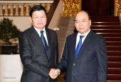 Thủ tướng Chính phủ Nguyễn Xuân Phúc tiếp Thủ tướng Chính phủ Lào