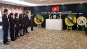 Tổng Lãnh sự quán Việt Nam tại Trung Quốc tổ chức lễ viếng đồng chí Đỗ Mười