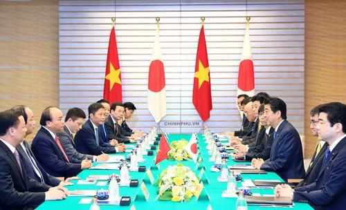 Việt Nam-Nhật Bản: Trao đổi 9 văn kiện hợp tác