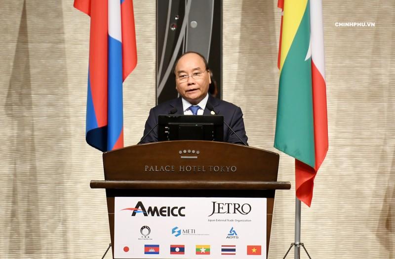 Thủ tướng Nguyễn Xuân Phúc tham gia Diễn đàn Đầu tư Mê Công-Nhật Bản
