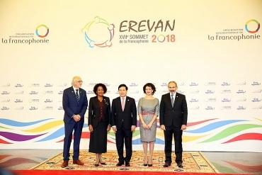 Phó Thủ tướng Phạm Bình Minh dự Hội nghị Cấp cao Pháp ngữ lần thứ 17